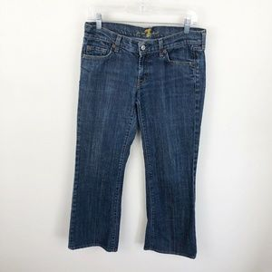 7FAM For All Mankind Boot Cut Jeans Medium Wash